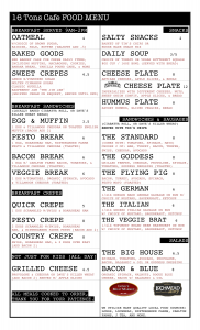16 Tons Menu July 11-2014-3