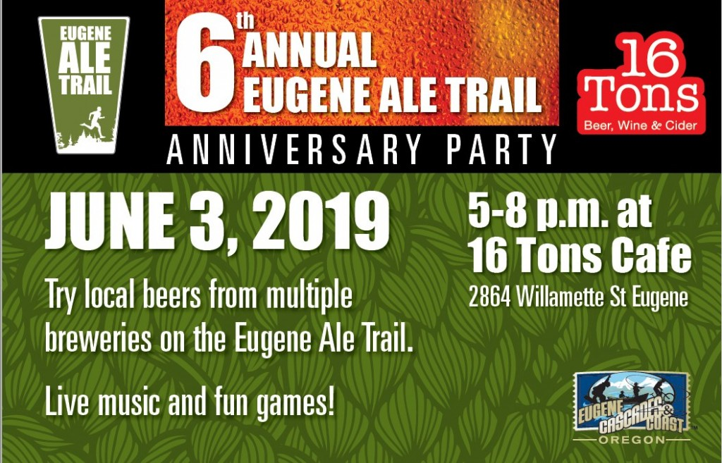 eugene ale trail anniversary party
